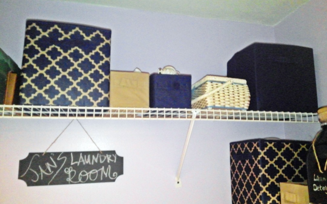 Laundry Room Organization: Insta-Project