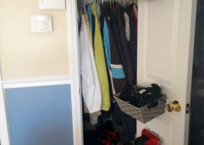 Coat Closet After